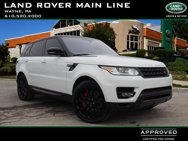 Certified Pre Owned 2016 Land Rover Range Sport Supercharged Dynamic