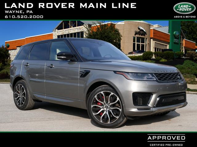 Certified Pre-Owned 2018 Land Rover Range Rover Sport Supercharged Dynamic