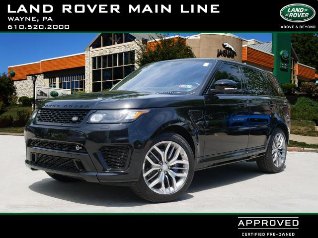 Certified Pre-Owned 2017 Land Rover Range Rover Sport SVR