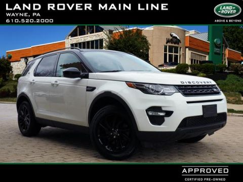 Certified Pre-Owned 2016 Land Rover Discovery Sport HSE