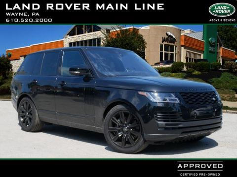 Certified Pre-Owned 2018 Land Rover Range Rover Supercharged