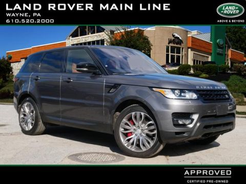 Certified Pre-Owned 2016 Land Rover Range Rover Sport Supercharged Dynamic