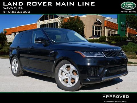 Certified Pre-Owned 2019 Land Rover Range Rover Sport HSE